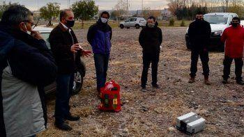 guarda ambiental municipal debuto en la laguna san lorenzo