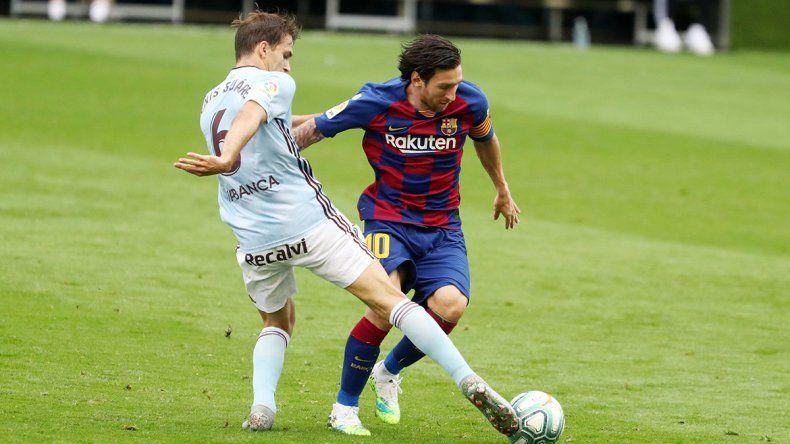 Messi: dos asistencias y un polémico VAR que lo privó del gol 700