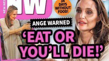 angelina preocupa por su delicado estado de salud
