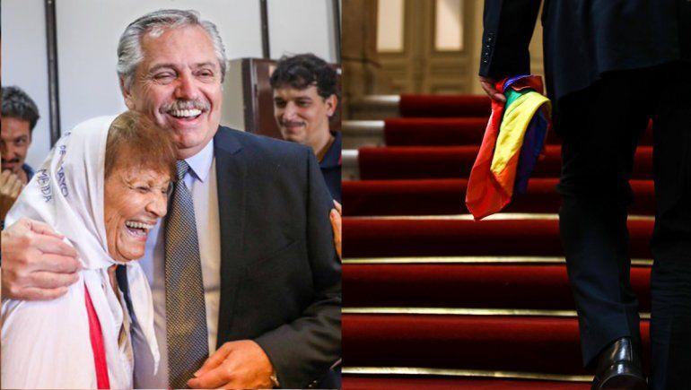 Memoria y Orgullo: los saludos de Alberto en un día especial