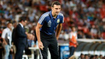 Lionel Scaloni, entrenador de la selección argentina.
