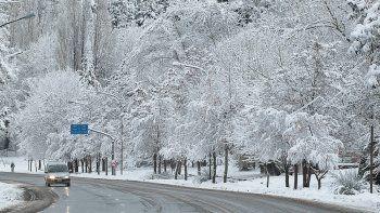 nieve y frio: acuerdan trabajo conjunto en toda la provincia