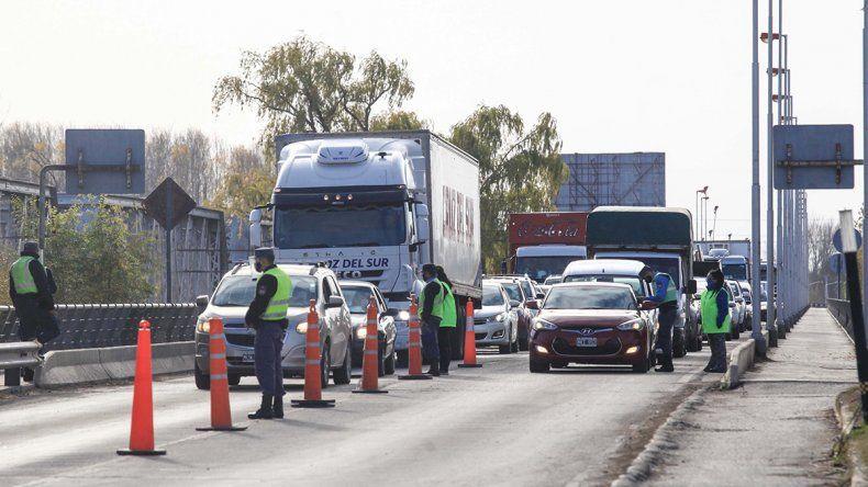 Controles: rechazaron a más de mil vehículos en una semana