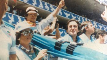 a 34 anos: la pareja neuquina que salio en la peli y dio la vuelta en mexico 86