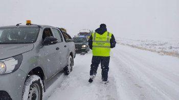nevadas: cual es el estado de las rutas