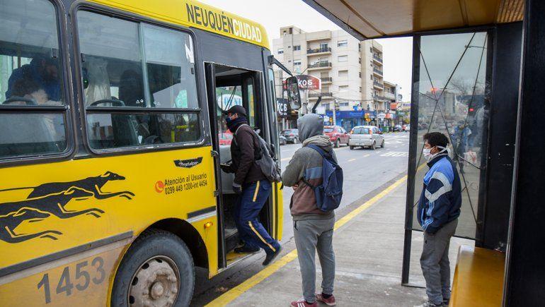 Transporte público en Neuquén.