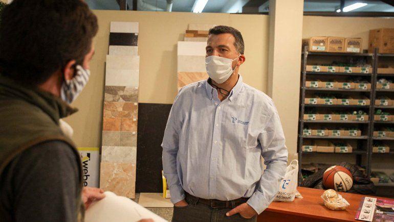Marcelo Remolina es gerente de Instalaciones Patagónicas