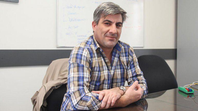 Facundo Arévalo es gerente de RSV, empresa dedicada a sistemas de rastreo satelital