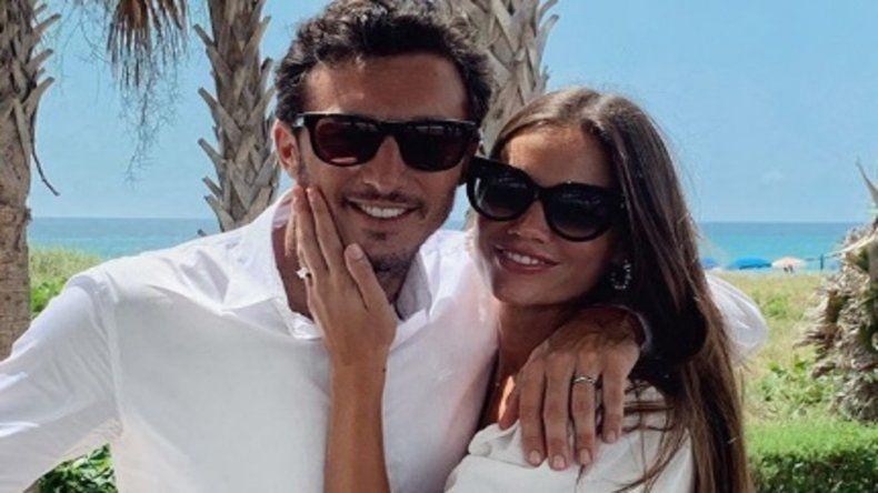 Pico Mónaco se casó y Pampita le envío un mensaje