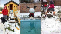 el chocon premio a los mejores munecos de nieve