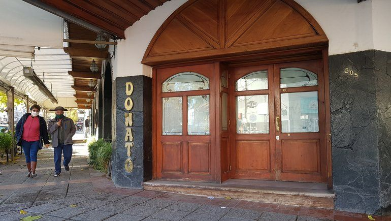 Neuquén: final para Donato, una confitería con historia