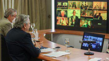 Fernández pidió la unidad del Mercosur y cruzó a Bolsonaro