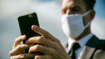 pandemia: el uso de datos moviles crecio hasta un 40%