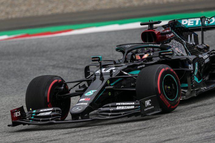 Lewis Hamilton dominó el viernes de la Fórmula 1 en Austria