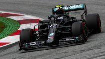 Valtteri Bottas sumó su pole position número 12 en la Fórmula 1 al dominar las clasificación del Gran Premio de Austria, el primero de la temporada 2020.