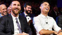 Lionel Messi y Cristiano Ronaldo.