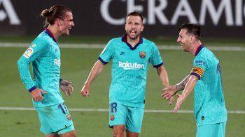 ¿Bien anulado? Messi masticó bronca y el Barsa no se rinde