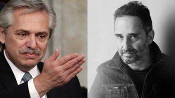 Alberto elogió Jorge Drexler y le pidió una canción en vivo