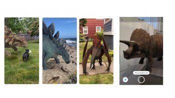 google permite recrear escenas de jurassic  world