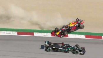 Alexander Albon habló sobre la polémica maniobra que lo tuvo como protagonista junto a Lewis Hamilton en Austria.