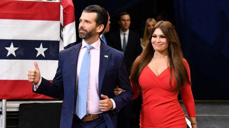 La novia de Donald Trump Junior dio positivo de coronavirus
