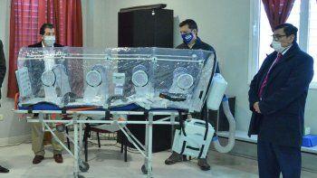 el hospital de cutral co y huincul cuenta con una cabina de aislamiento