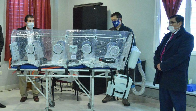 Rioseco equipa el hospital.