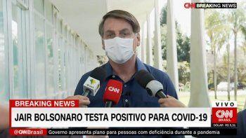 El presidente de Brasil dio positivo de coronavirus