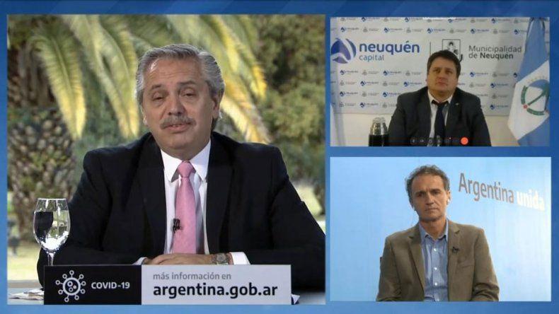 El Presidente anunció un plan de obras para el Alto Valle