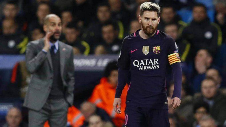 Qué dijo Guardiola sobre el posible pase de Messi al City