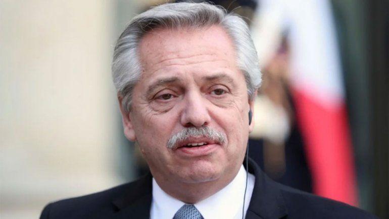 Fernández le deseó una pronta mejoría a Bolsonaro