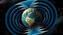 Campos magnéticos de la Tierra.