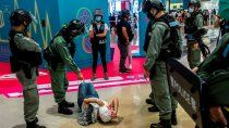 repudio ante la censura en hong kong