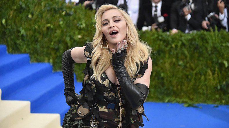 Madonna hizo furor con un desnudo en las redes a los 61 años