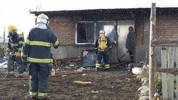 Joven resultó gravemente herido en un incendio en Junín