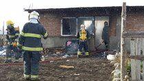 joven resulto gravemente herido en un incendio en junin