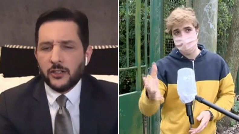 Paoloski fue tendencia al pelearse con un youtuber