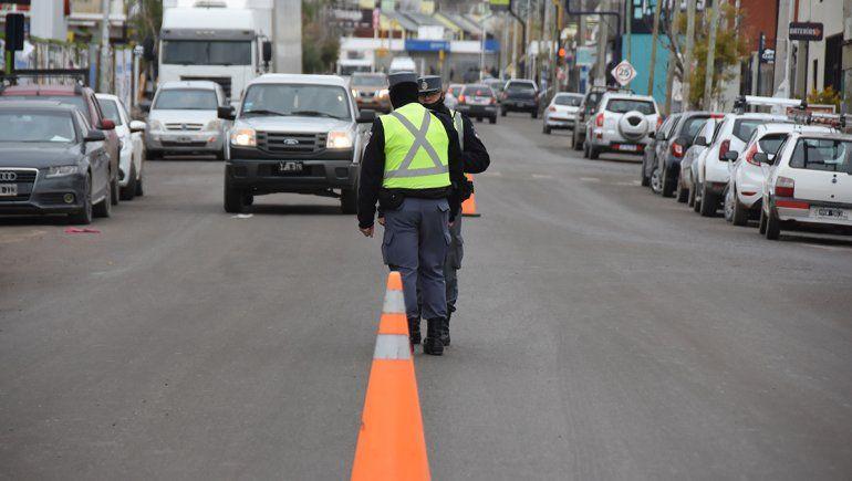 La circulación en Neuquén, Plottier y Centenario bajó a la mitad