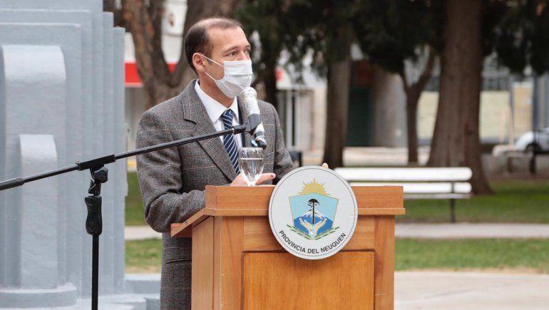 Gutiérrez destacó al personal de salud y las fuerzas de seguridad