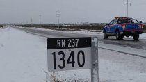 por el temporal de nieve cortaron las rutas 237 y 46