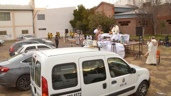 La automisa convocó a un centenar de fieles en Cipo