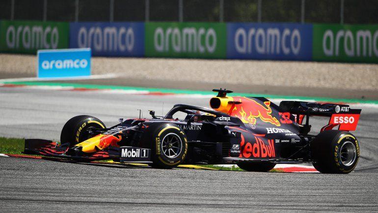 Max Verstappen se quedó con la referencia del viernes de la Fórmula 1 en el Gran Premio de Estiria