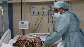 las terapias intensivas de brasil estan por colapsar