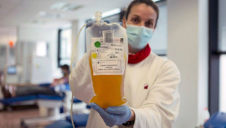 El plasma de recuperados de coronavirus contribuye a mejorar la respuesta de los pacientes internados en terapia intensiva.