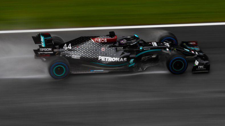Lewis Hamilton consiguió una pole position incontestable en el Gran Premio de Estiria