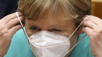 merkel pide ayuda mundial para salir de la pandemia