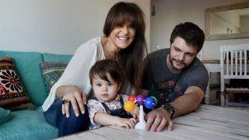 María Fernanda Callejón, su pareja y su hija, intoxicados con monóxido de carbono