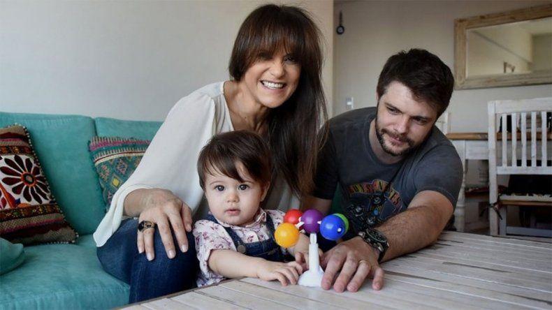 María Fernanda Callejón, su pareja y su pequeña hija se intoxicaron con monóxido de carbono