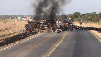 tragico accidente en salta: 4 personas murieron carbonizadas