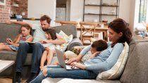 aumento un 50 por ciento el uso familiar de internet
